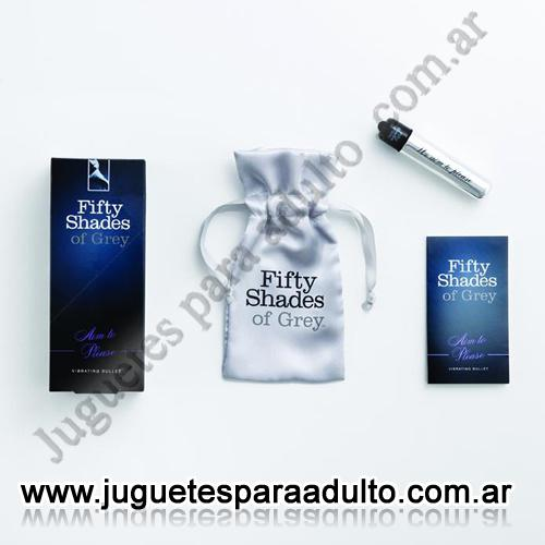 Marcas Importadas, 50 Sombras, Bala vibradora XL Fifty Shades of Grey Vibrating Bullet