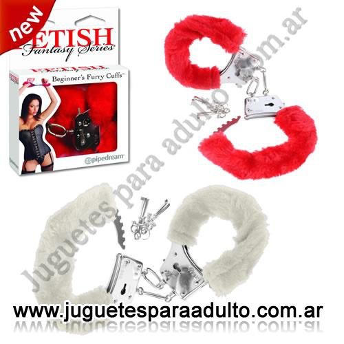 , , Esposas con peluche regulables Fetish