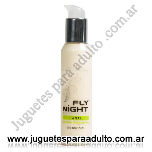 Aceites y lubricantes, Fly Night, Crema anal 125cc Fly night