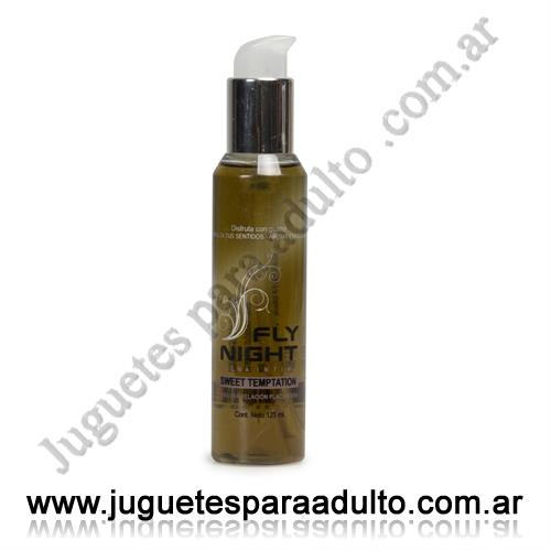 Aceites y lubricantes, Fly Night, Crema saborizada de chocolate 125 cc