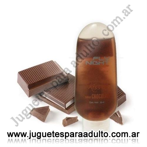 Aceites y lubricantes, Fly Night, Lubricante comestible Chocolate 70 cc