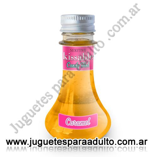 Aceites y lubricantes, Lubricantes sexitive, Kissable Caramel