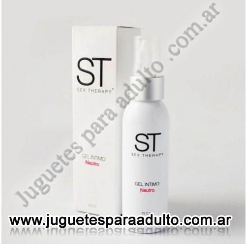 Aceites y lubricantes, Lubricantes sex therapy, Gel Intimo Neutro Sex Therapy