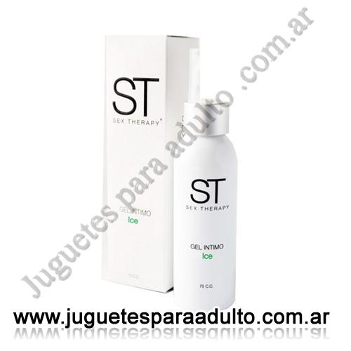 Aceites y lubricantes, Lubricantes sex therapy, Gel Intimo Ice