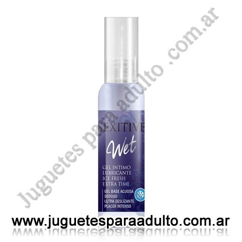 , , Wet gel lubricante Ice Fresh 60 ml
