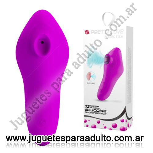 Estimuladores, Estimuladores especiales, Succionador clitorial intesidad regulable y recargable USB